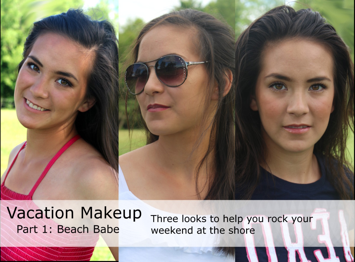 How to do your makeup for your next Beach Vacation #beachmakeup