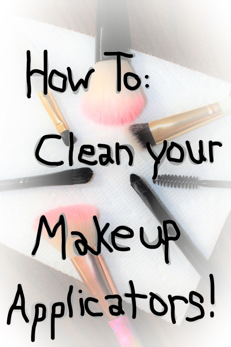How to Clean Your Makeup Applicators
