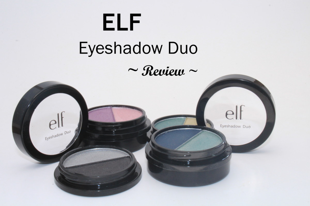 ELF eyeshadow duos review!